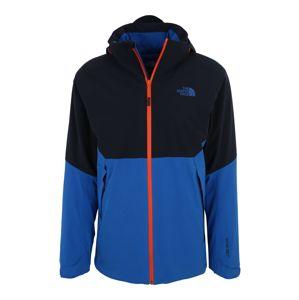 THE NORTH FACE Outdoorová bunda 'Apex Flex GTX 2.0'  modrá / ultramarínová modř / svítivě oranžová