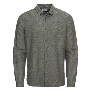 NOWADAYS Košile 'heavy brushed linen shirt'  jedle