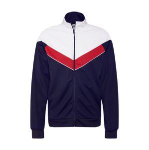 Only & Sons Mikina s kapucí  červená / tmavě modrá / bílá