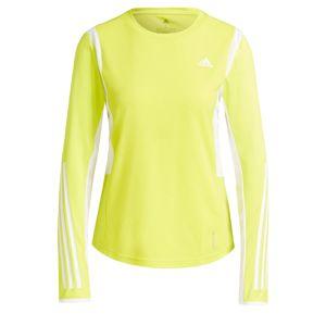 ADIDAS PERFORMANCE Funkční tričko  bílá / svítivě žlutá