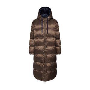 EDITED Zimní kabát 'Olwen'  hnědá / modrá