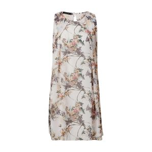 Sublevel Letní šaty  bílá / šedobéžová / růžová