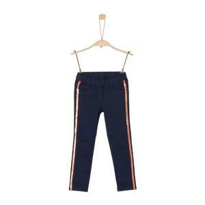 S.Oliver Junior Kalhoty  námořnická modř / měděná