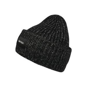 Calvin Klein Čepice 'Beanie'  černý melír