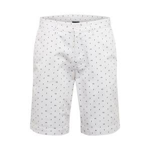 ARMANI EXCHANGE Kalhoty  bílá / černá