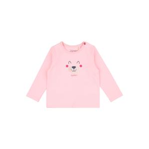 ESPRIT Tričko  růžová / pink / marine modrá / béžová