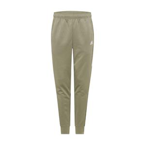 ADIDAS PERFORMANCE Sportovní kalhoty 'Aero'  olivová / bílá