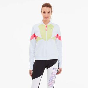 PUMA Sportovní bunda  světle červená / světle zelená / bílá