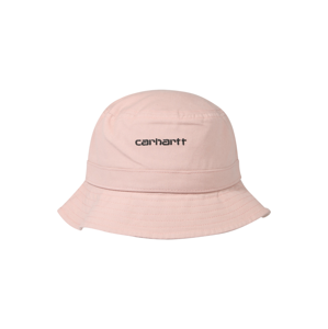 Carhartt WIP Klobouk 'Script Bucket Hat'  černá / růžová