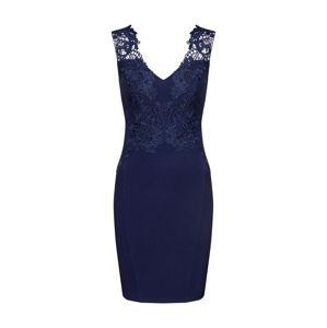 Lipsy Šaty 'APPL PLNGE'  tmavě modrá