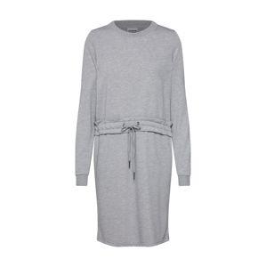 Noisy May Šaty 'MONTY'  šedý melír