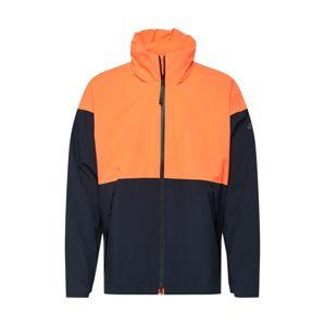 ADIDAS PERFORMANCE Outdoorová bunda  modrá / oranžově červená
