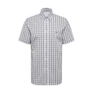 LACOSTE Košile  červená / bílá / marine modrá