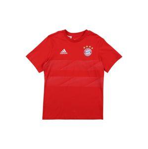 ADIDAS PERFORMANCE Funkční tričko 'FCB KIDS GRA T'  červená