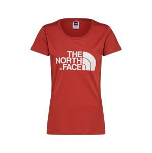 THE NORTH FACE Tričko 'Women's S/S Easy Tee'  červená