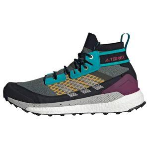 ADIDAS PERFORMANCE Sportovní boty  zelená / šedý melír / tyrkysová / fialová