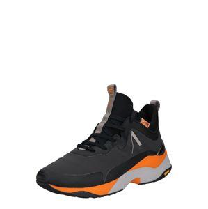 ARKK Copenhagen Kotníkové tenisky 'Storm'  oranžová / černá / světle šedá