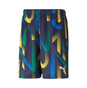 PUMA Sportovní kalhoty 'NEYMAR'  mix barev / námořnická modř