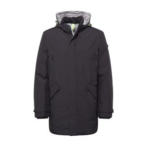 BRAX Zimní kabát  černá