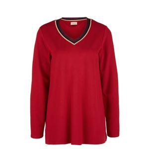 TRIANGLE Tričko  červená