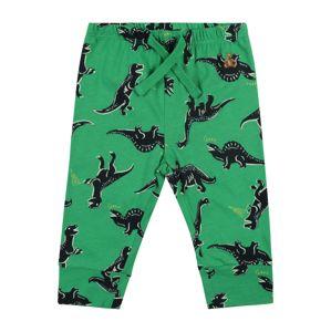 GAP Kalhoty  zelená / tmavě zelená