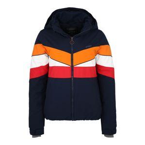 PROTEST Outdoorová bunda 'HONEYCOMB'  tmavě modrá / oranžová / bílá