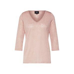OBJECT Tričko 'TESSI'  růžová