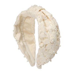 LILY AND ROSE Šperky do vlasů 'Pearl'  krémová