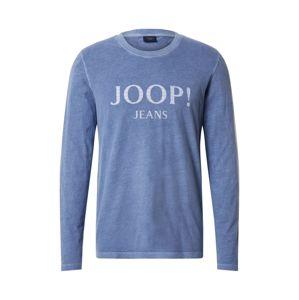 JOOP! Jeans Tričko 'Amor'  kouřově modrá / bílý melír