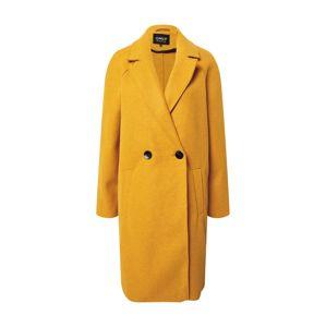 ONLY Přechodný kabát 'Berna'  žlutá