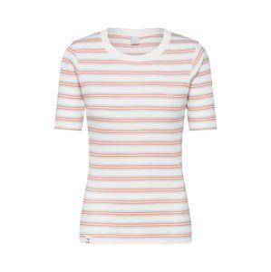Iriedaily Tričko 'Mimie Tee'  oranžová / bílá