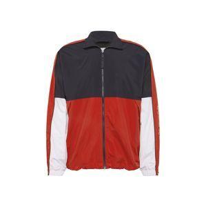 Carhartt WIP Přechodná bunda 'Terrace'  námořnická modř / červená / bílá