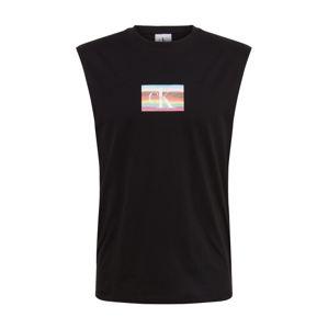 Calvin Klein Jeans Tričko 'PRIDE SMALL FLAG SLS TEE'  černá