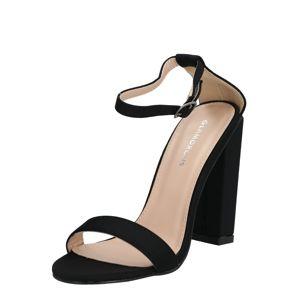 GLAMOROUS Sandály  černá