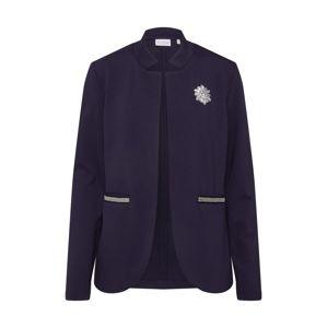 Rich & Royal Blejzr 'Jacket Jersey Jacquard'  tmavě modrá