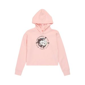 Abercrombie & Fitch Mikina 'Jan 2 Flip Sequin Unicorn'  pink / mix barev