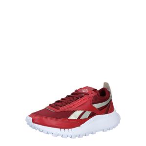 Reebok Classic Tenisky 'Legacy'  pastelově červená / bílá / stříbrná / rubínově červená