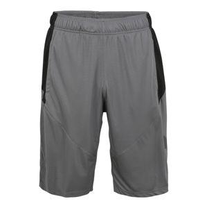 PUMA Sportovní kalhoty 'Cat'  černá / šedá