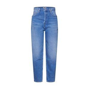 Tommy Jeans Džíny 'Mom Jeans TJ 2004'  modrá džínovina / červená / bílá