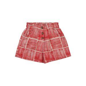 UNITED COLORS OF BENETTON Kalhoty  růžová / červená