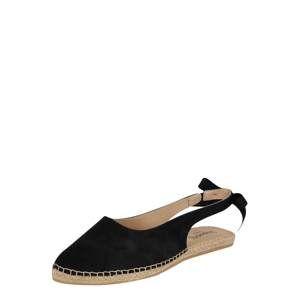 Espadrij L´originale Sandály 'Bastille'  černá