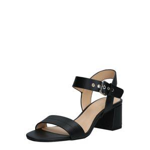 ESPRIT Páskové sandály 'Adina'  černá