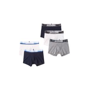Abercrombie & Fitch Spodní prádlo  námořnická modř / bílá / šedá