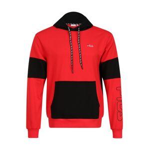 FILA Sportovní mikina 'Lawrence'  černá / červená