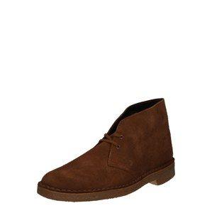 Clarks Originals Kotníkové boty  hnědá