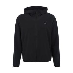 Calvin Klein Performance Sportovní bunda 'WIND JACKET'  černá