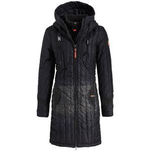 Khujo Zimní kabát 'JERRY PRIME2'  noční modrá / černá