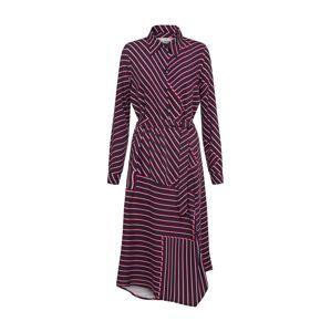 minimum Košilové šaty 'Jacobine'  červená / černá / bílá