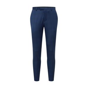 BURTON MENSWEAR LONDON Kalhoty s puky 'CABOT'  modrá džínovina / nebeská modř / hnědá