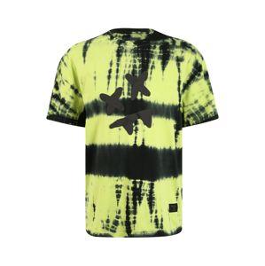 SikSilk Tričko  svítivě zelená / černá